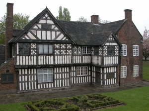 The oldest house in the Potteries
